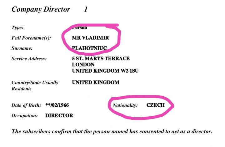Plahotniuc are (și) cetățenie Cehă?