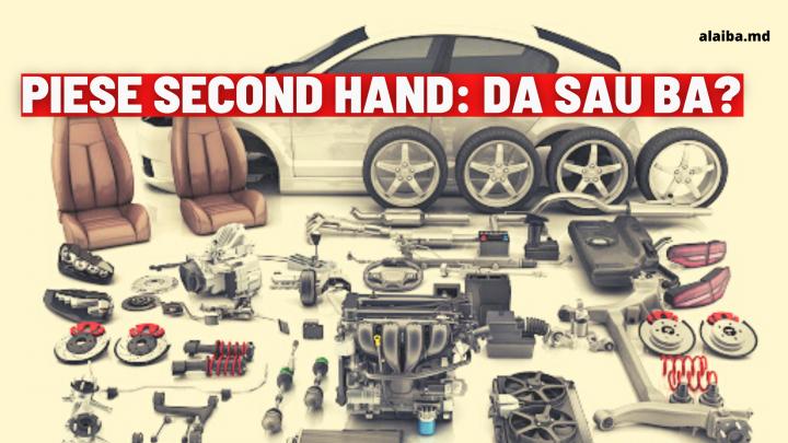 Moldova interzice importul de piese auto second-hand: asta nu e bine